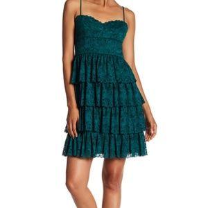 Marina Ruffle Dress, NWT